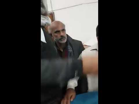 Banking Court Lahore Lawyer beats up client.