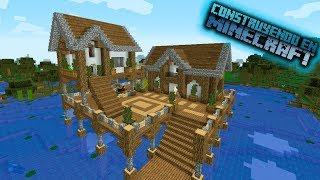 Como hacer una casa sobre el pantano en minecraft para survival OmarZcraft