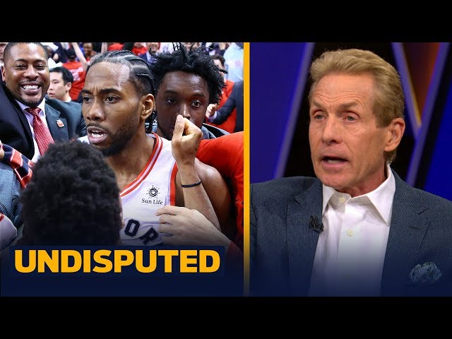 Kawhi made the luckiest shot in history of the NBA Playoffs — Skip Bayless   NBA   UNDISPUTED