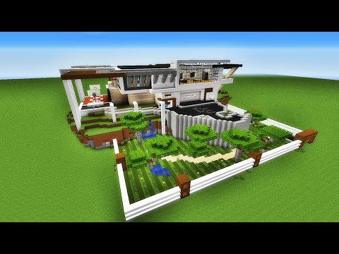 Minecraft restaurant ultra moderne par blinkdestroy for Maison moderne minecraft tuto