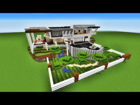 Tuto maison moderne tuto maison moderne with tuto maison for Tuto maison moderne minecraft