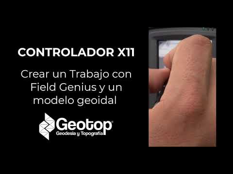 1 Creacion de Trabajos y uso de Modelo Geoidal