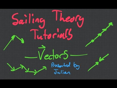 Sailing Theory Tutorials - Introduction To Vectors