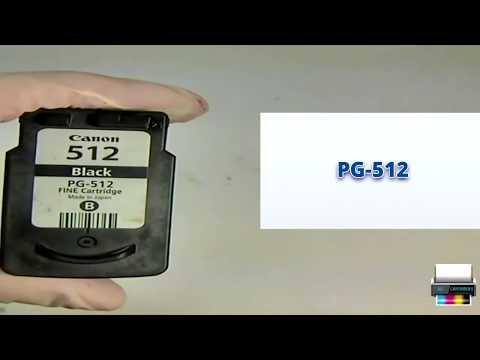 Заправка картриджа Canon PG-512 (2969B007, 2970B007)