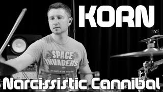 Korn Narcissistic Cannibal drum cover