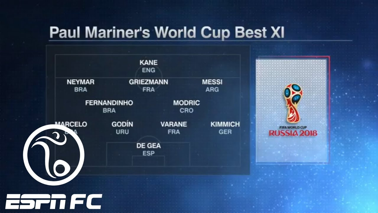 Is this the 2018 World Cup Best XI? (Spoiler: It doesn't include Cristiano Ronaldo) | ESPN FC