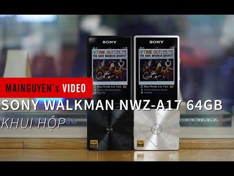 Khui hộp Sony Walkman NWZ-A17(64GB) - www.mainguyen.vn