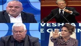Debati i ashpër i Sali Berishës me Artan Hoxhën, Hajdaragën e Petro Kocin (përplasja nga minuta 39)