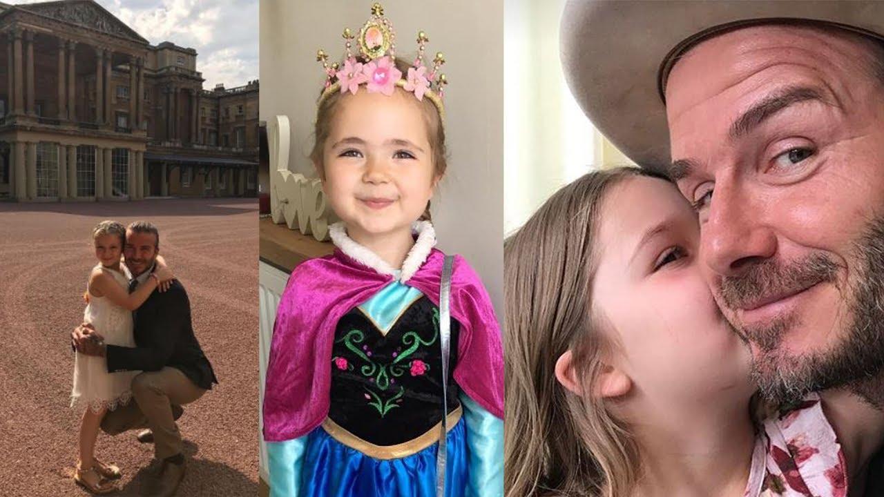 David Victoria Beckhams Daughter Harper Beckham