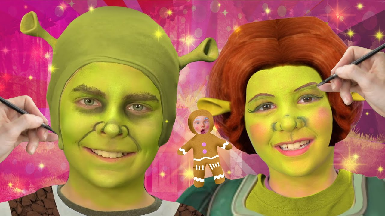 The Shrek Face Paint Song We Love Face Paint Youtube