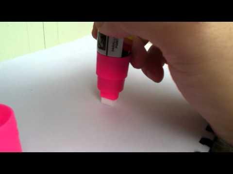 วิธีเตรียมปากกาเรืองแสงก่อนใช้-BIZboard