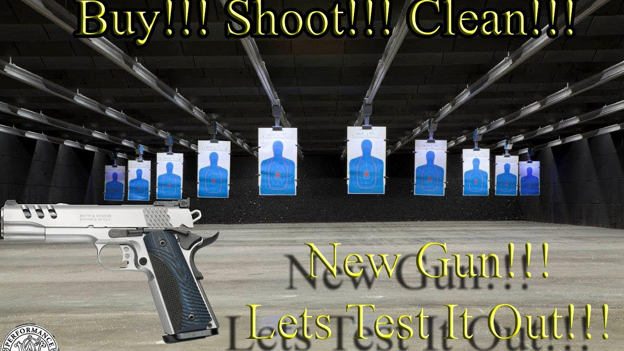 1911 Smith & Wesson performance center swpc 45 acp. - YouTube