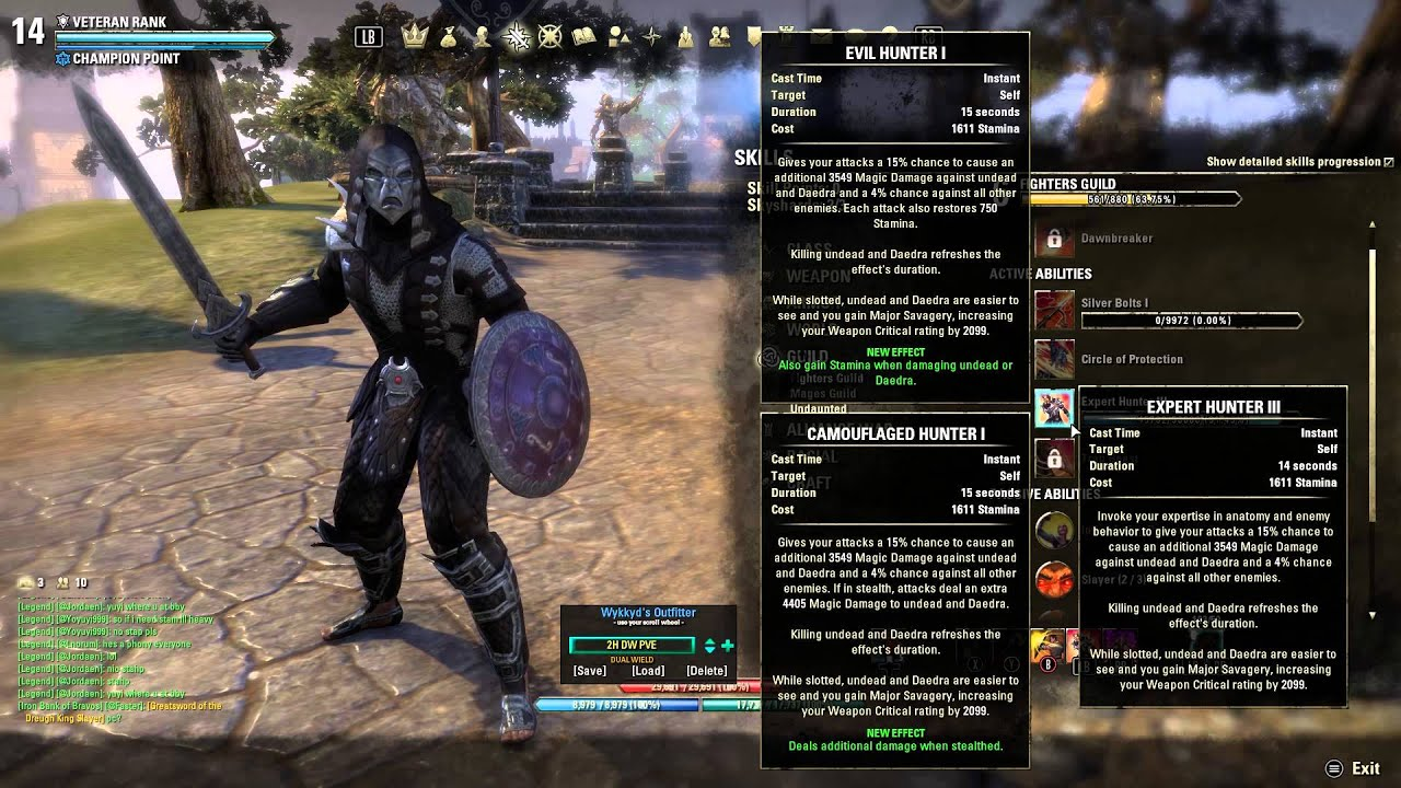 Eso Stamina Pvp Build
