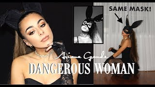 ARIANA GRANDE  *DANGEROUS WOMAN* get the look MAKEUP AND OUTFIT 2017 // Emilie Maggie