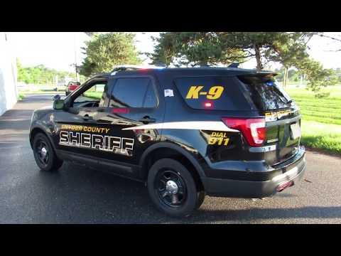 Snyder County Sheriff K-9 2017 Ford Utility