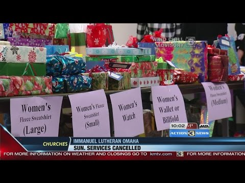 Omaha's homeless surprised with Christmas gifts