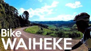 ADVENTURE BY BIKE: WAIHEKE ISLAND, NEW ZEALAND