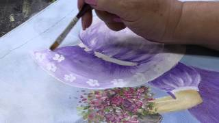Pintura Estamparia em Tecido por Julia Passerani – Parte 1