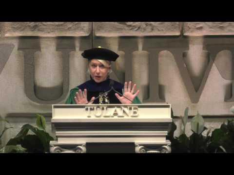 Dame Helen Mirren Keynote Tulane