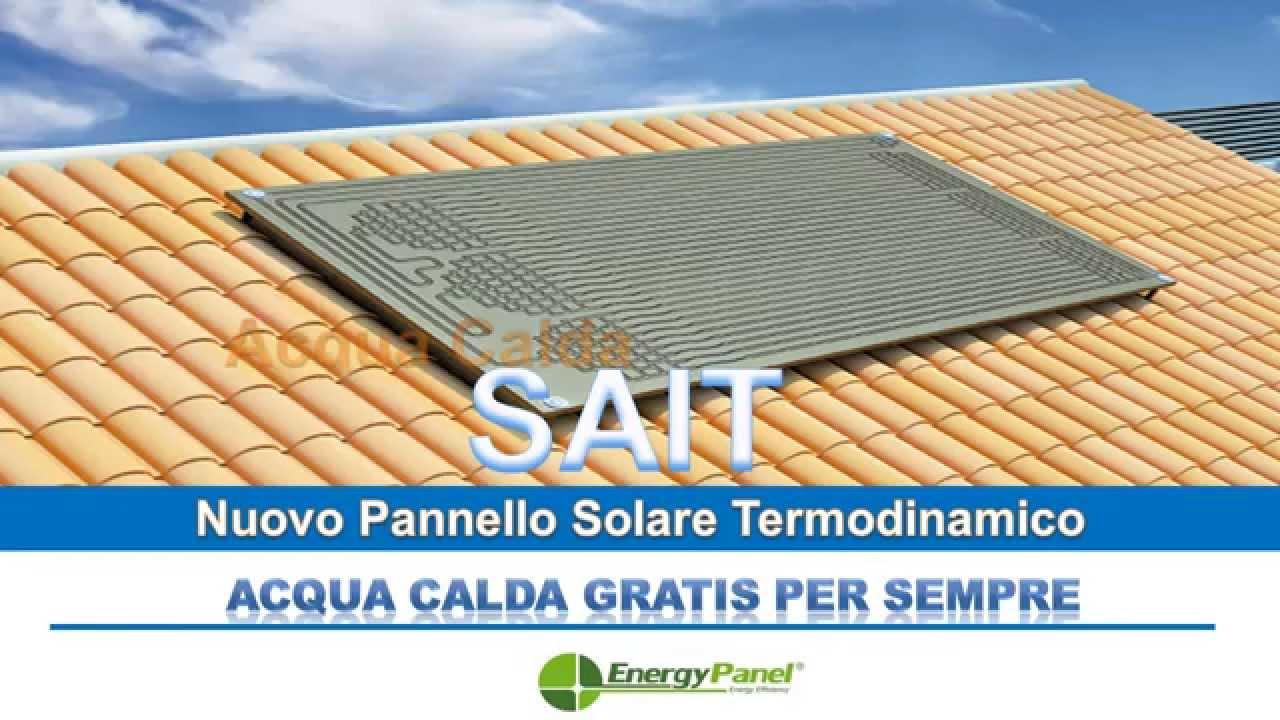 Pannello Solare Gommone : Sait solare termodinamico youtube