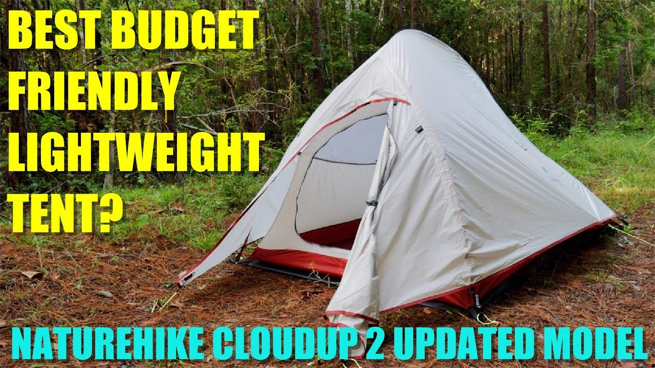 The BEST BUDGET Tent? Naturehike Cloud-Up 2 Lightweight 2-Person 4-Season Backpacking Tent  sc 1 st  YouTube & The BEST BUDGET Tent? Naturehike Cloud-Up 2 Lightweight 2-Person 4 ...