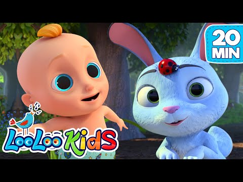 Easter Bunny Hop - Easter Songs For Kids | LooLoo KIDS