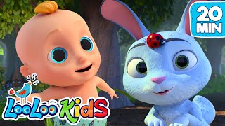 Easter Bunny Hop - Easter Songs For Kids   LooLoo KIDS