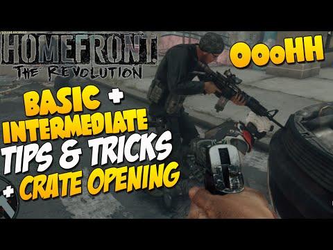 "Homefront the Revolution Gameplay ""Basic + Intermediate Tips & Tricks"" - ORDNANCE CRATES OPENING!"
