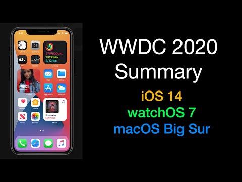 WWDC 2020: iOS 14, watchOS 7, macOS Big Sur – Apple Keynote Event Round Up