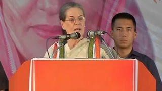 Not ashamed of family in Italy: Sonia Gandhi's retort to PM Modi jibe