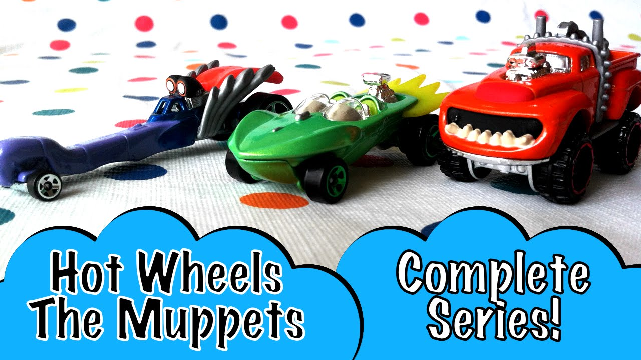 Complete Hot Wheels The Muppets Animal Gonzo Kermit Toy Car By