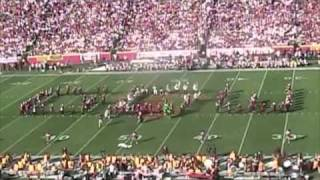 Stanford Marching Band Halftime Show @ USC 11-14-09 55-21