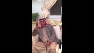 الشيخ محمد بن ذيب المهان يقبل العذر من الشيخ قبلان بن ظافر بن لويف