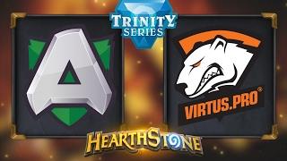 Hearthstone - Alliance vs. Virtus Pro - Hearthstone Trinity Series - Day 8