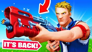 The TAC SHOTGUN is BACK! (Fortnite)