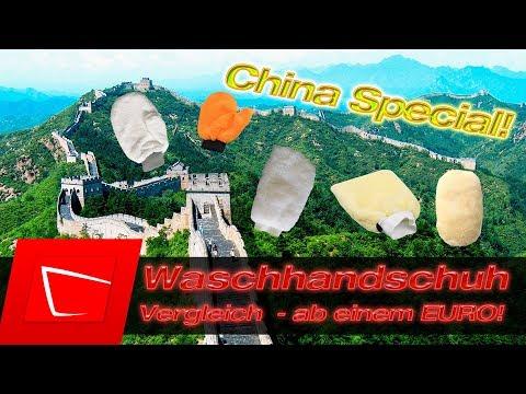 Auto Waschhandschuh ab 1 Euro Test - China Special günstig und trotzdem gut?