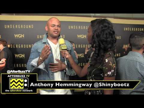 Anthony Hemingway at the Underground Emmy Screening