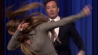 Jennifer Lopez Teaches Jimmy Fallon How to DAB in EPIC Dance Battle on the Tonight Show