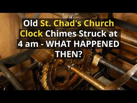 Old St Chad's Church Collapse in Shrewsbury