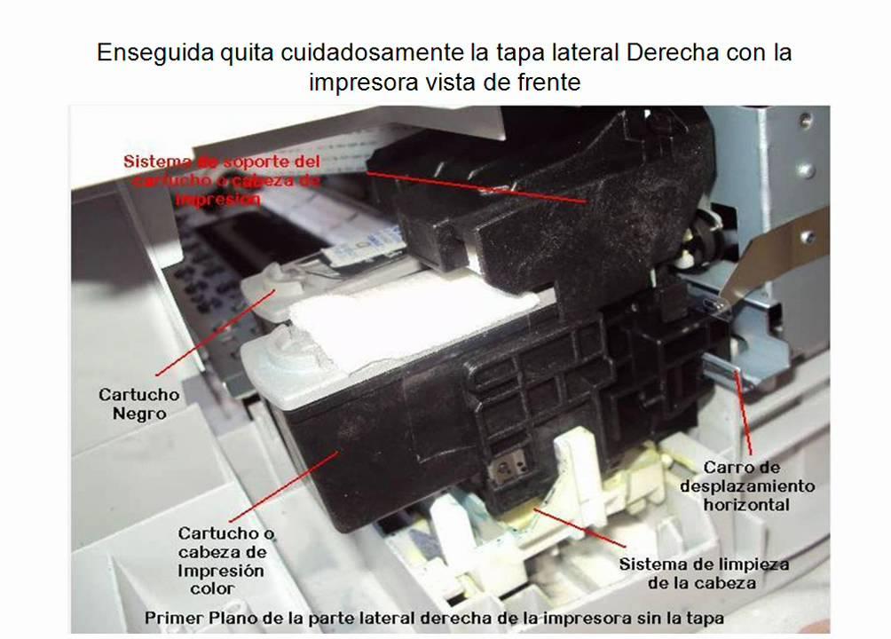 aseo del sistema de limpieza de la impresora canon pixma mp140 youtube rh youtube com
