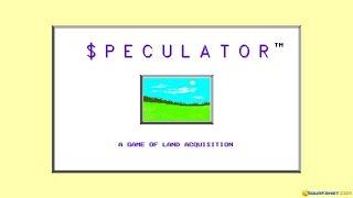 Speculator gameplay (PC Game, 1993)