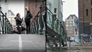 We Visit The Bridge Where Casey Neistat Proposed!! | Day 28 - Amsterdam | #BLEH2017