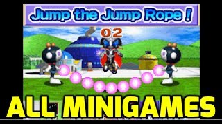 Bomberman Max 2 (GBA) - All Minigames (Both Characters)
