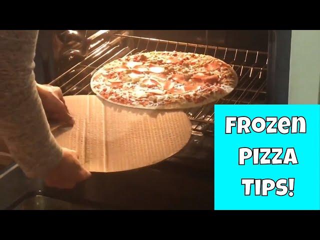 Frozen Pizza Baking Tips | Baking Pizza #FrozenPizza