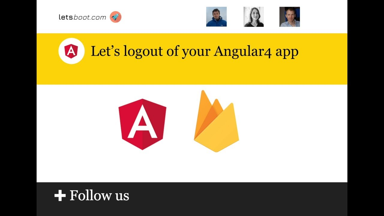 Let's logout of your Angular4 app