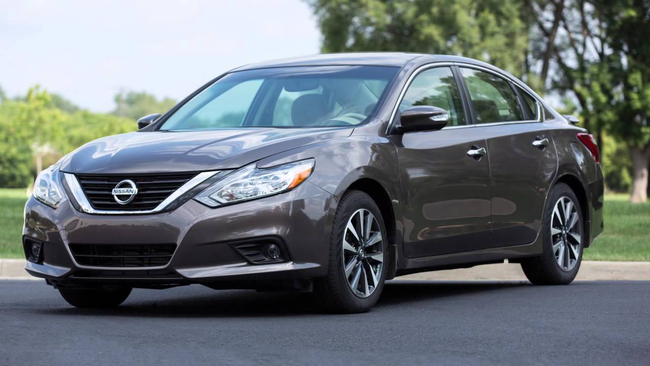 2015 Nissan Altima >> 2016 Nissan Altima - Front and Rear Sonar (if so equipped) - YouTube