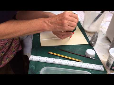 How to make a Carborundum printing plate