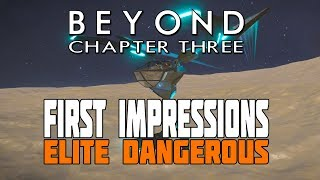Elite Dangerous Beyond - First Look at Tridant, Javelin and Lance Fighters - Chapter Three