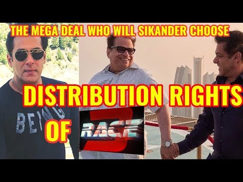 SALMAN KHAN'S RACE 3 FILM DISTRIBUTION RIGHTS EXPLAINED