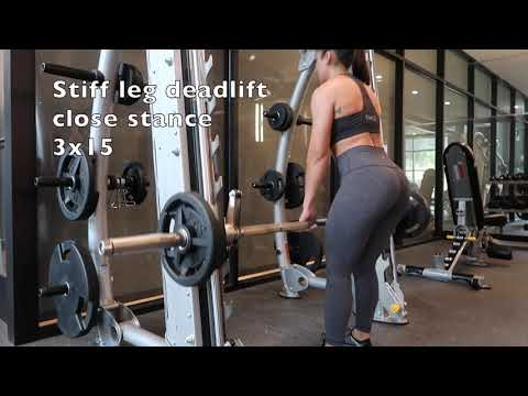Smith machine leg workout! | Giveaway?!?